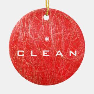 CLEAN DIRTY Dishwasher Ornament