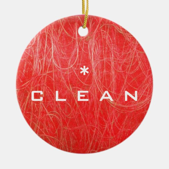 CLEAN DIRTY Dishwasher Ornament