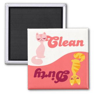 Clean & Dirty Kitties - Dishwasher Magnet