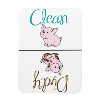Clean/Dirty Little Pig Dishwasher Magnet