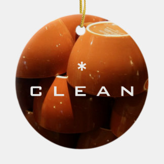CLEAN DIRTY Reversible Dishwasher Ornament