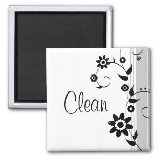 Clean Dishes Magnet magnet