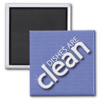 Clean Dishes Magnet