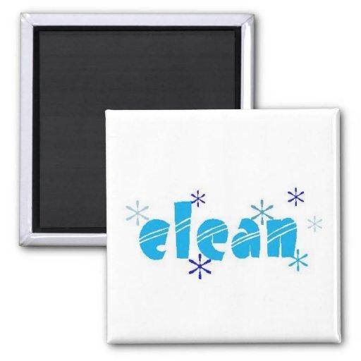 """""""CLEAN """" Dishwasher Magnet"""