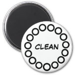 """""""CLEAN"""" Dishwasher Magnet (""""DIRTY""""sold separately)"""