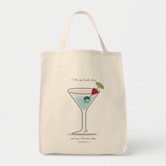 Clean Earth, Dirty Martini! Tote Bag