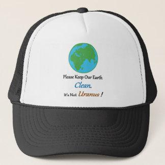 Clean Earth Full Trucker Hat