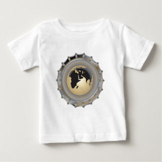 Clean Earth Recycle Bottle Cap Baby T-Shirt