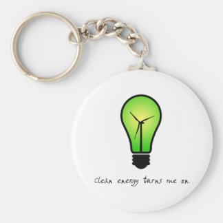 Clean Energy Bulb - Keychain