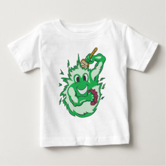 Clean Energy Green Colored Baby T-Shirt