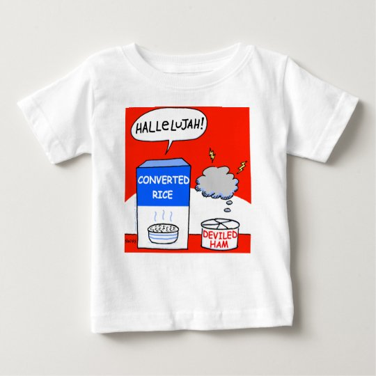 Clean Funny Evangelical Christian Cartoon Baby Baby T ...