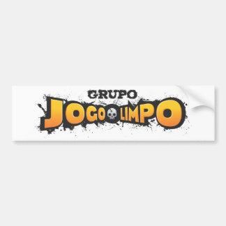 Clean game bumper sticker