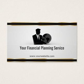 Clean Golbal Financial Planning Business Card