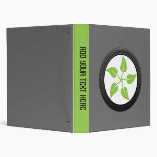 Clean Green Power 3 Ring Binders