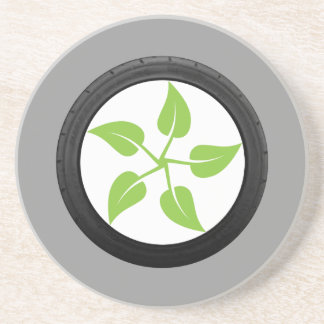 Clean Green Power Drink Coaster