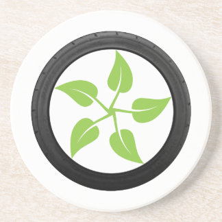Clean Green Power Drink Coasters