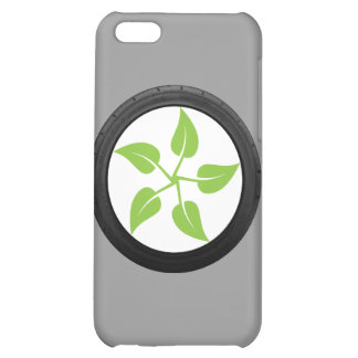 Clean Green Power iPhone 5C Cases