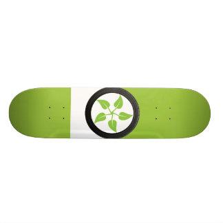 Clean Green Power Skateboard Deck