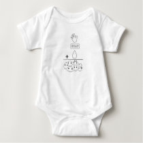 Clean Hands Equal Happy Kids Baby Bodysuit