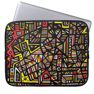 Clean Hard-Working Broad-Minded Wholesome Laptop Sleeve