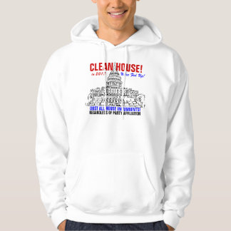 Clean House! (Dbl-Sided) Hoodie