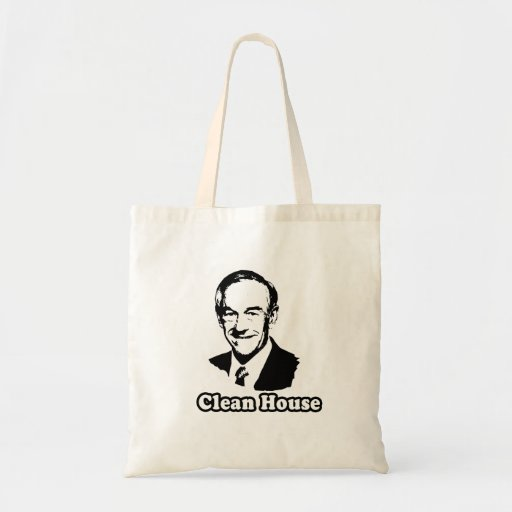 CLEAN HOUSE TOTE BAGS