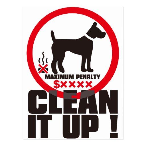¡CLEAN_IT_UP! TARJETAS POSTALES