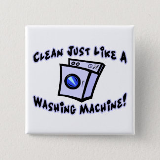 Clean Just Like A Washing Machine Button