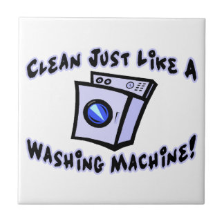 Clean Just Like A Washing Machine Ceramic Tile