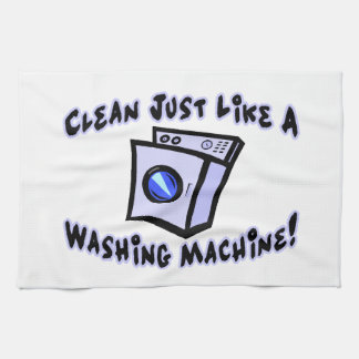 Clean Just Like A Washing Machine Hand Towel