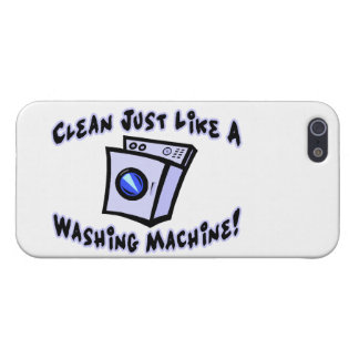 Clean Just Like A Washing Machine iPhone SE/5/5s Case