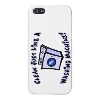 Clean Just Like A Washing Machine iPhone SE/5/5s Cover