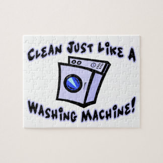 Clean Just Like A Washing Machine Jigsaw Puzzle