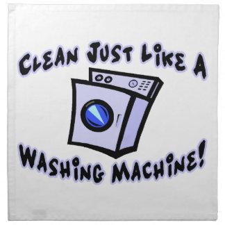 Clean Just Like A Washing Machine Napkin