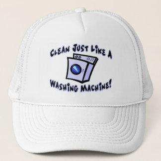 Clean Just Like A Washing Machine Trucker Hat