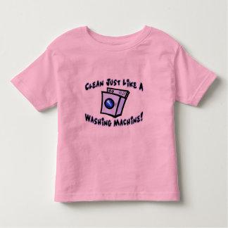 Clean Like A Washing Machine Toddler T-shirt