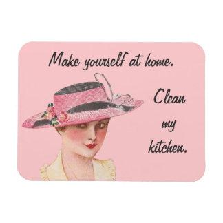 Clean My Kitchen Magnet