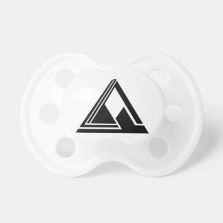 Clean N Simple Tri Logo Pacifier