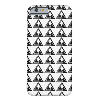 Clean N Simple Tri Logo Print Barely There iPhone 6 Case