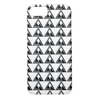 Clean N Simple Tri Logo Print iPhone 8/7 Case