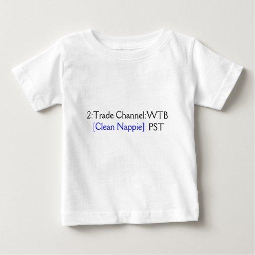 Clean Nappie Please T Shirt