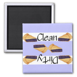 Clean or Dirty Blueberry Pie Dishwasher Magnet