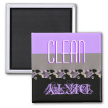 Clean or Dirty Dishwasher Magnet