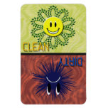 CLEAN OR DIRTY Dishwasher Magnet Rectangle Magnets