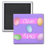 Clean or Dirty Easter Dishwasher Magnet