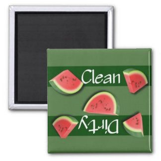 Clean or Dirty Watermelon Dishwasher Magnet