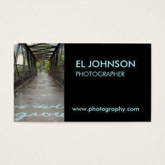 Clean Photography Business Card