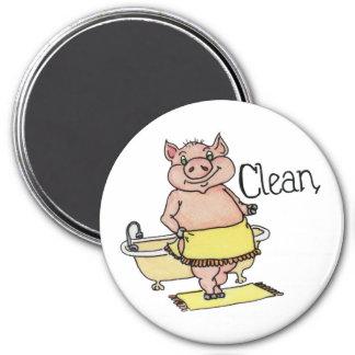 Clean Piggie Dishwasher Magnet