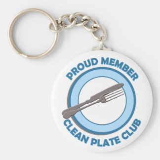 Clean Plate Club Proud Member Key Chains