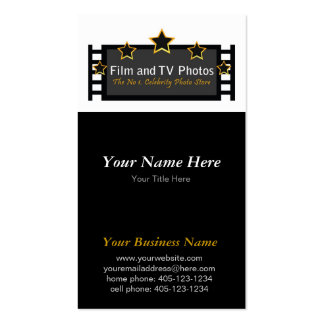 Clean Professional Dark - Business Card Template
